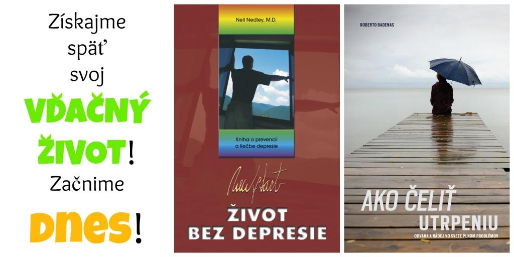 knihy o depresii
